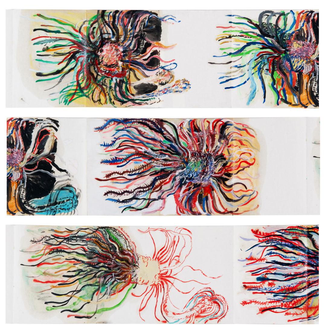 Carnet à plis n°4, 2010