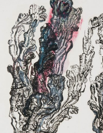 Folding book n°11, 2010/2012 (detail)
