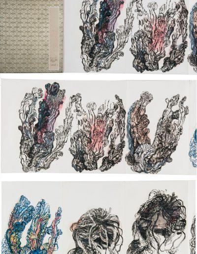 Folding book n°11, 2010/2012