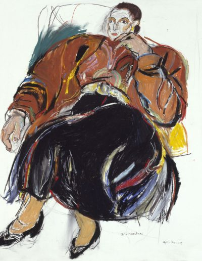 Leïla Menchari, collection Hermès, 1990