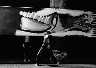 Creation of the sets of « Sin Arrimo y con Arrimo », 1998