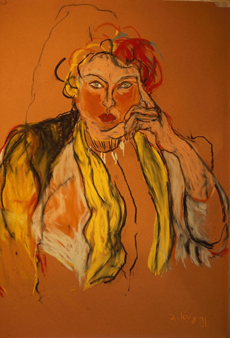Femme, collection textuel, 1991