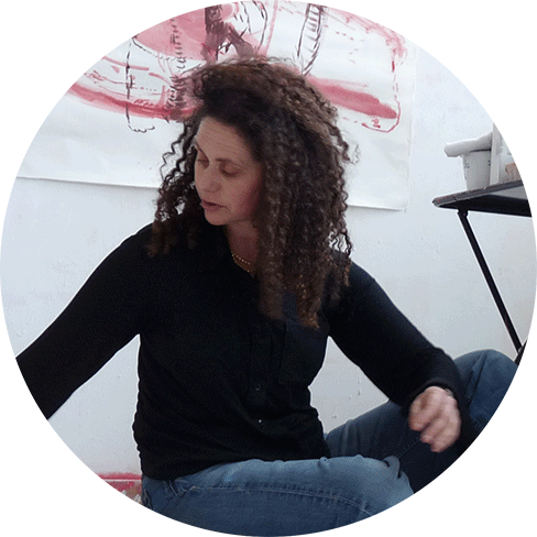 portrait of Agnès Lévy