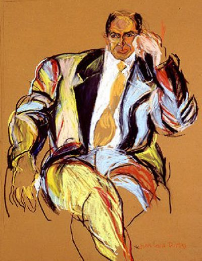 Portrait of Jean-Louis Dumas, Hermès collection, 1990
