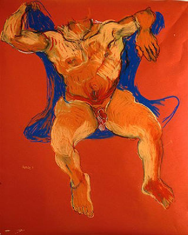 Nu rouge, 1991