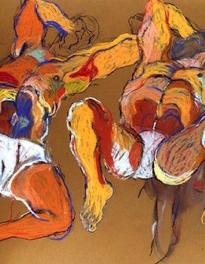 Deux hommes, 1991