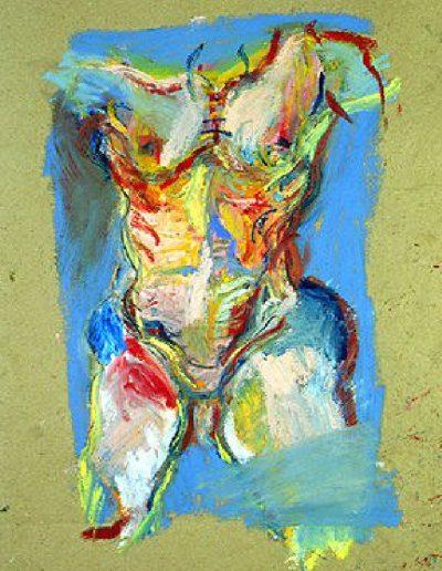 Torse bleu, 1993