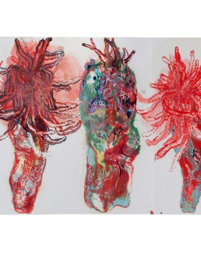 Folding book n°13, 2011 (detail)